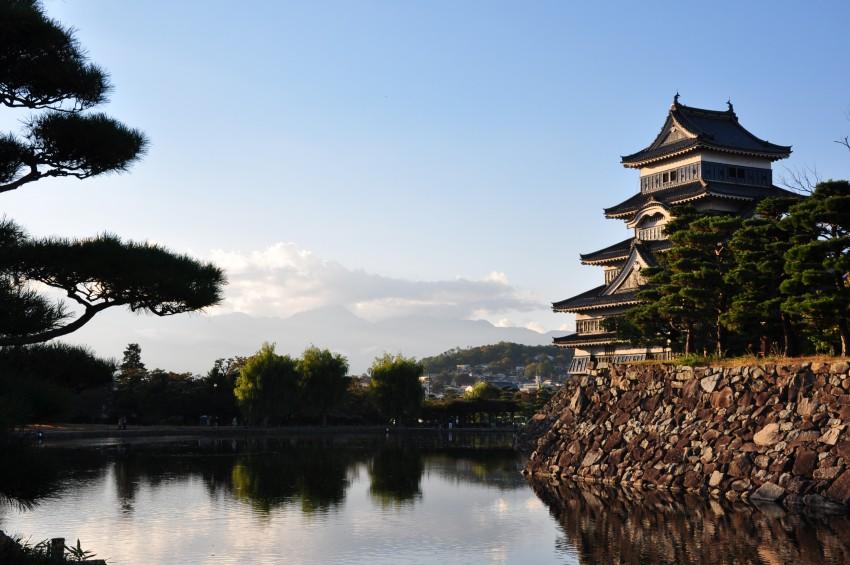 Le donjon de Matsumoto, trésor national du Japon