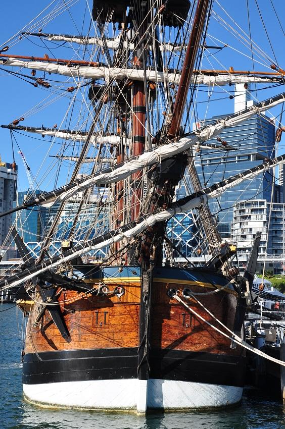 A Sydney, dans la peau du Capitaine Cook