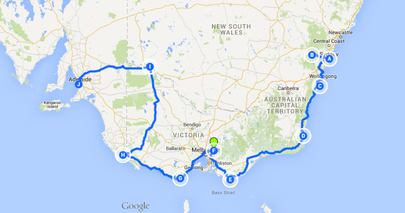 OLIVER TRIPS AUX ANTIPODES CHAPITRE 2 : L'AUSTRALIE EN CAMPERVAN