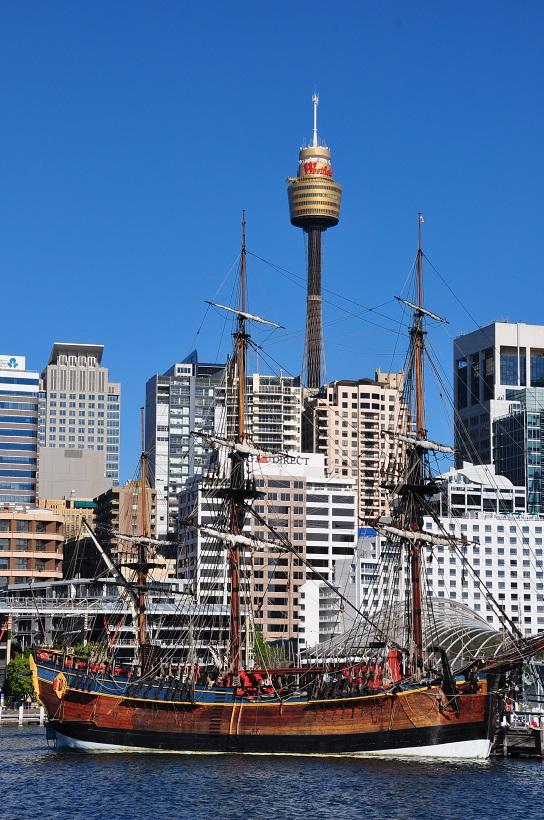 HMB Endeavour, le bâteau du Capitaine Cook à Sydney