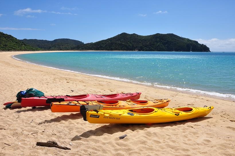 Kayak de mer à Abel Tasman