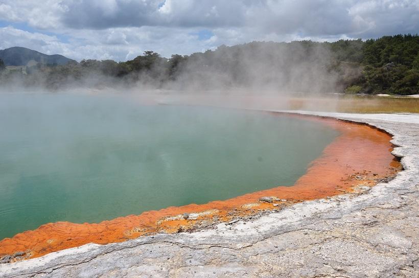 Volcanisme et géothermie en Nouvelle Zélande