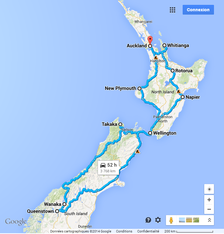 OLIVER TRIPS AUX ANTIPODES : AUTOTOUR EN NOUVELLE-ZELANDE
