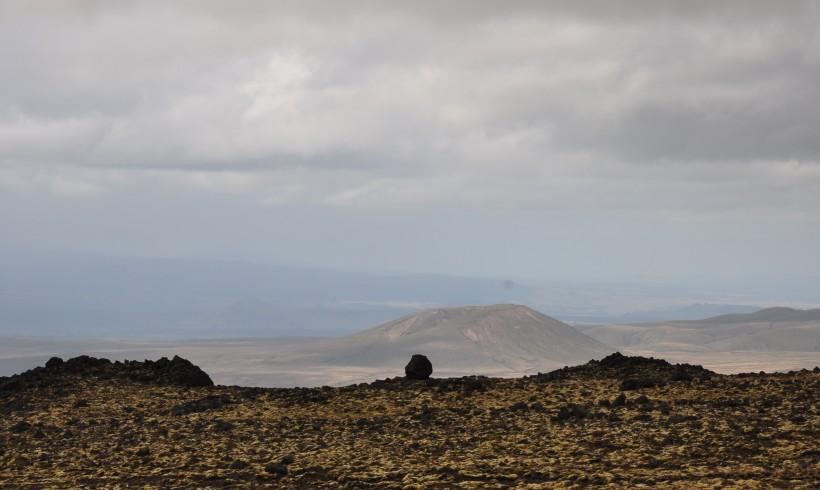 Roches volcaniques au parc national de Tongariro