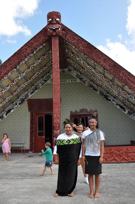 Fiers d'être maoris