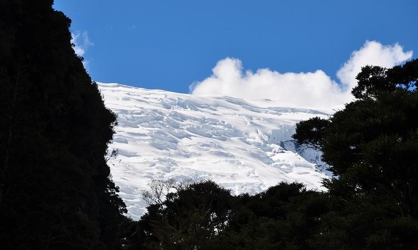 Vue sur le Rob Roy Glacier