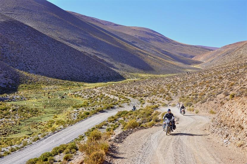 Route 40 en Argentine sur les traces du Che
