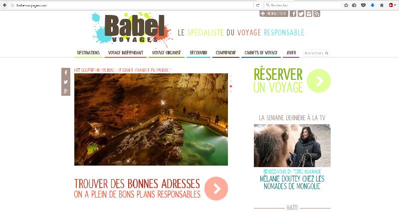Babel Voyages, média créateur de voyages engagés