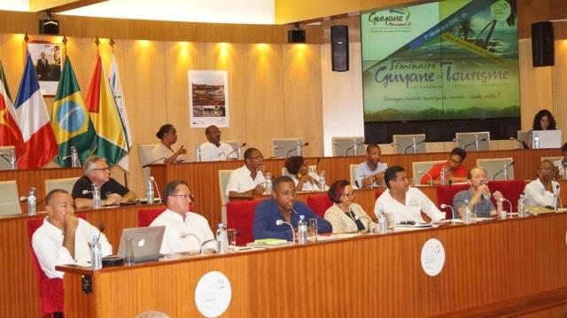 Les participants du premier séminaire Guyane et Tourisme