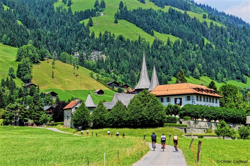 La Suisse, paradis pour les amoureux de la pédale
