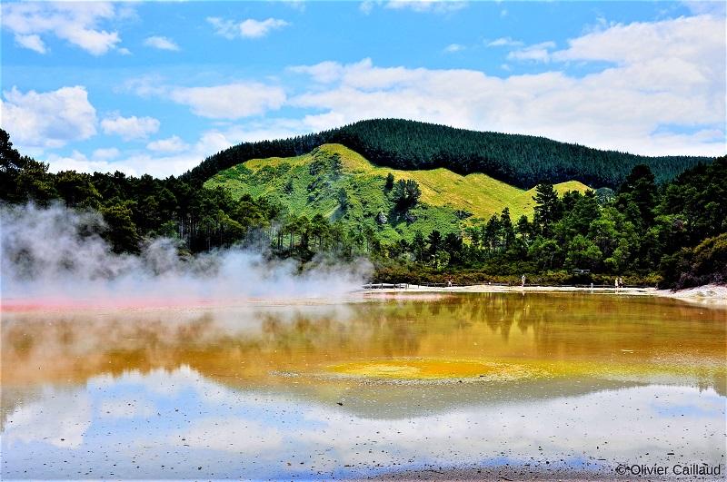 Découverte de la géothermie en Nouvelle-Zélande